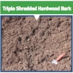 Triple Shredded Hardwood Bark - Seaside Mulch - Soil, Compost, Stone